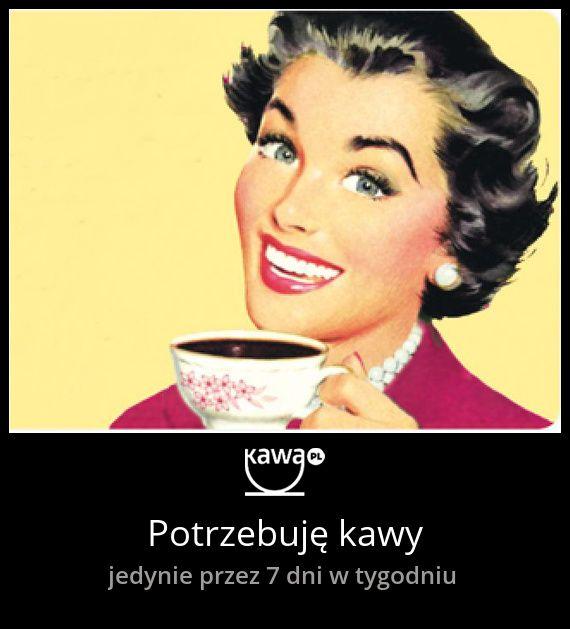 Potrzebuję kawy